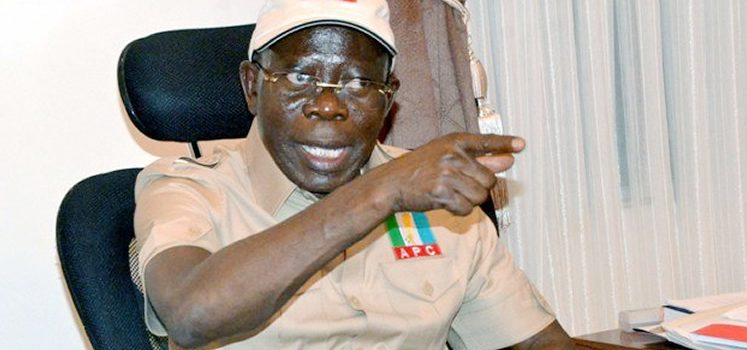 ICYMI: APC Will Win In A Free, Fair Election, Says Oshiomhole